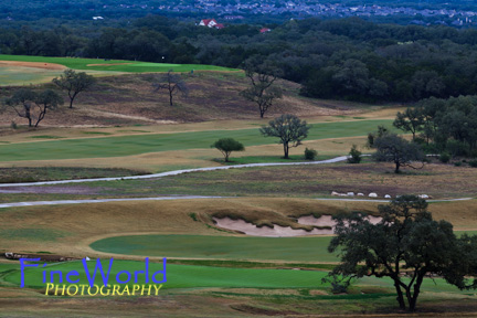 Finishing hole, TPC San Antonio, home of the Valero Texas Open.