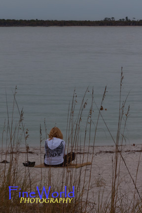 Girl at Beach, Gasparilla Island