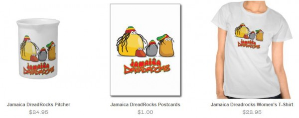A small sample of products from Jamaica Dreadrocks