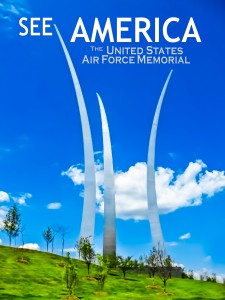 See America Poster: U. S. Air Force Memorial