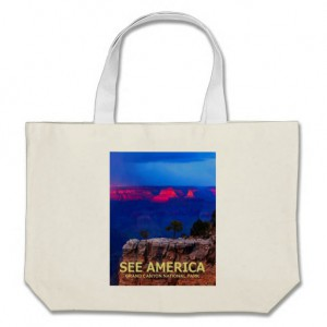 The See America Poster of the Grand Canyon National Park by Ed Gleichman