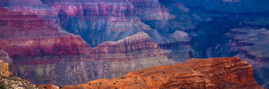 Ridges and the River at the Grand Canyon